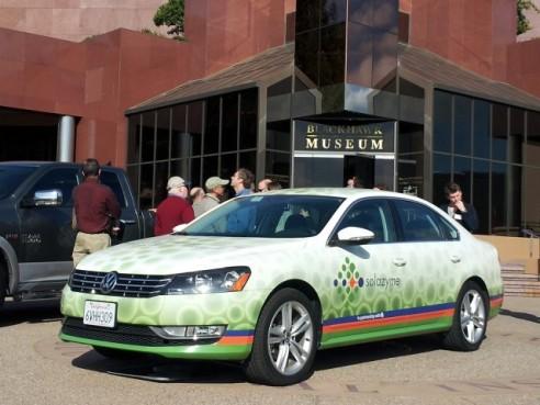 VW-passat algae-derived-diesel