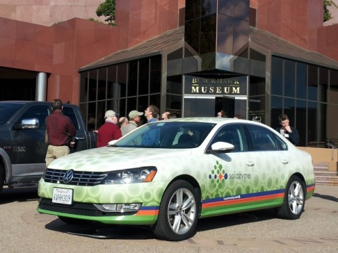 VW-passat algae-derived-diesel