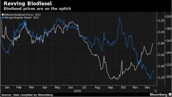 biodiesel price