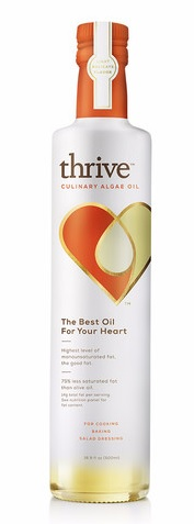 Solazyme Thrive Culinary Oil